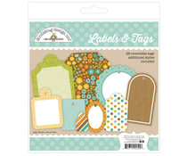 Doodlebug Design Flea Market Labels & Tags (28pcs) (5394)