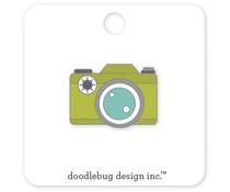 Doodlebug Design Shutterbug Collectible Pins (5410)