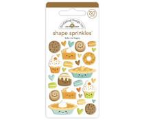 Doodlebug Design Bake Me Happy Shape Sprinkles (30pcs) (6934)