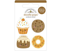 Doodlebug Design Fall Treats Doodle-Pops (6949)