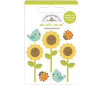 Doodlebug Design Sunflowers Doodle-Pops (6956)