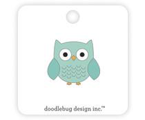 Doodlebug Design Owlbert Collectible Pins (6982)