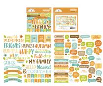 Doodlebug Design Pumpkin Spice Chit Chat (6986)