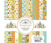 Doodlebug Design Pumpkin Spice 6x6 Inch Paper Pad (7033)