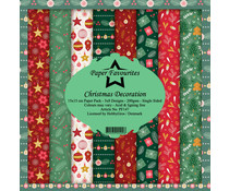Paper Favourites Christmas Decoration 6x6 Inch Paper Pack (PF147)