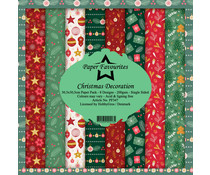 Paper Favourites Christmas Decoration 12x12 Inch Paper Pack (PF347)