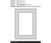Simple and Basic Card Base Rectangle with Inlay Dies (SBD104)