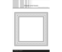 Simple and Basic Card Base Square with Inlay Dies (SBD105)