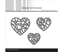 Simple and Basic String Hearts Dies (SBD111)
