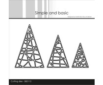 Simple and Basic String Christmas Trees Dies (SBD112)