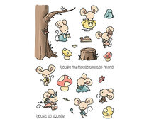 LDRS Creative Mouse Trusted Friend Clear Stamps (LDRS3247)