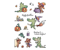 LDRS Creative Spook Ya Later Alligator Clear Stamps (LDRS3249)