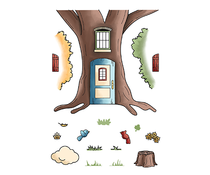 LDRS Creative Country House Clear Stamps (LDRS3250)