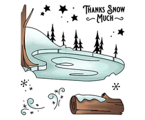 LDRS Creative Ice Valley Clear Stamps (LDRS3253)