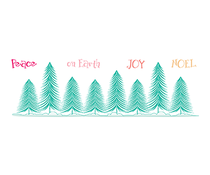 LDRS Creative Pine Tree Forest Clear Stamps (LDRS3271)