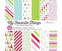 My Favorite Things Very Merry 6x6 Inch Paper Pad (EP-72)