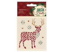 Papermania Deck The Halls Gem Sticker Stag (PMA 818106)