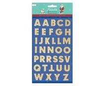 Papermania Santa and Friends Alphabet Stickers (36pcs) (PMA 828926)