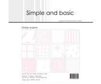 Simple and Basic Baby Rose 6x6 Inch Paper Pack (SBP020)
