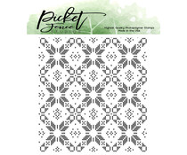 Picket Fence Studios Sweater Pattern Maker Clear Stamps (BB-148)