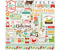 Carta Bella Farm To Table 12x12 Inch Element Sticker (CBFT127014)