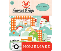 Carta Bella Farm To Table Frames & Tags (CBFT127025)