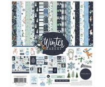 Carta Bella Winter Market 12x12 Inch Collection Kit (CBWM126016)
