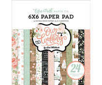 Echo Park Our Wedding 6x6 Inch Paper Pad (OW224023)