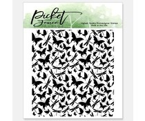 Picket Fence Studios Chase Me Clear Stamps (A-146)