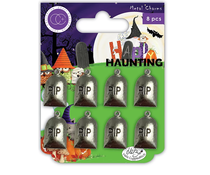 Craft Consortium Happy Haunting Metal Charms Graves (CCMCHRM016)