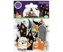 Craft Consortium Happy Haunting Wood Shapes (CCWDNS011)