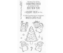 My Favorite Things Holiday Penguins Clear Stamps (BB-113)