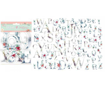 Stamperia Christmas Alphabet Die Cuts (DFLDC22)