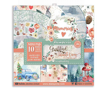 Stamperia Gratitude 8x8 Inch Paper Pack (SBBS23)