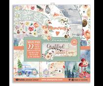 Stamperia Gratitude 12x12 Inch Paper Pack (SBBXLB09)