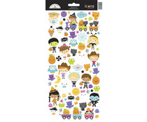 Doodlebug Design Ghost Town Icons Stickers (6993)