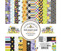 Doodlebug Design Ghost Town 6x6 Inch Paper Pad (7034)