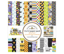 Doodlebug Design Ghost Town 12x12 Inch Paper Pack (7037)