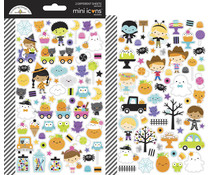 Doodlebug Design Ghost Town Mini Icons Stickers (7048)