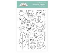Doodlebug Design Forest Friends Doodle Stamps (6972)