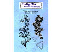 IndigoBlu Luscious Leaves A6 Rubber Stamps (IND0701)