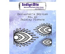 IndigoBlu Collector's No. 46 Paisley Flowers (IND0709)