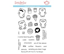 Time For Tea Bearing Gifts Clear Stamps (T4T/330/Bea/Cle)
