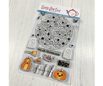 Time For Tea Spooktacular Clear Stamps (T4T/471/Spo/Cle)