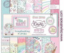DayKa Trade Be Happy 12x12 Inch Paper Pack (SCP-3032)