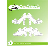 By Lene Women Shoes Clear Stamps (BLS1152)
