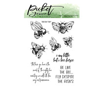 Picket Fence Studios I Bee Fierce Clear Stamps (A-142)