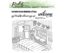 Picket Fence Studios Wherever You Go Clear Stamps (BB-153)