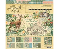 Graphic 45 Woodland Friends 12x12 Collection Pack (4502135)