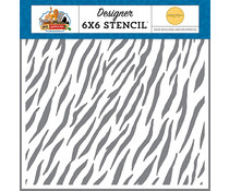 Carta Bella Zebra 6x6 Inch Stencil (CBZA128035)